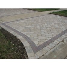 unilock paver driveway before and after