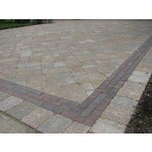 brick paver driveway replace